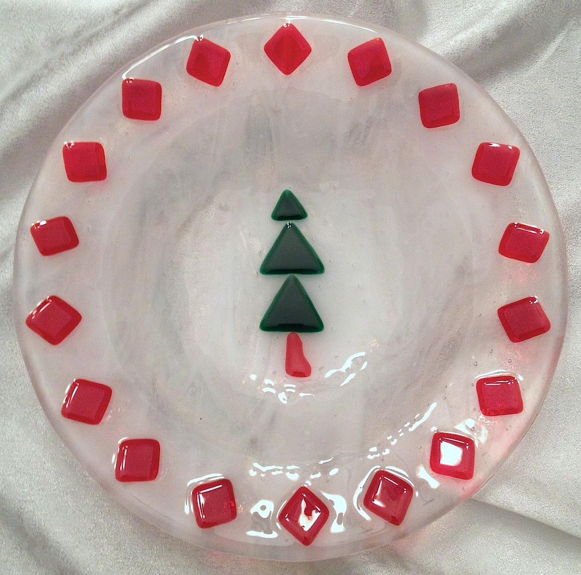 Christmas Tree Bowl, $30