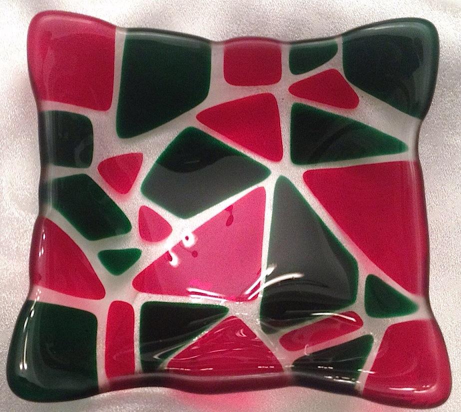 Christmas Mosaic Small Bowl
