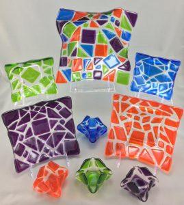 Carnivale series mosaics